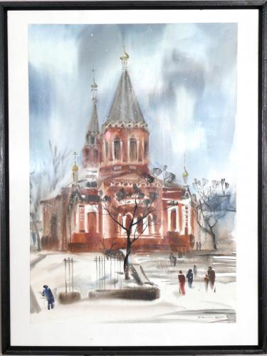 Лаушкіна В. Свято-Миколаївський собор